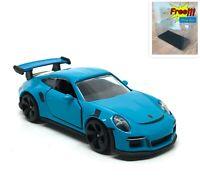 Majorette Porsche 911 GT3 RS Light Blue 1:59 209H no Package Free Display Box