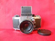 EXAKTA VX1000 Kamera mit Tessar Carl Zeiss OBJEKTIV 2,8/ 50 mm