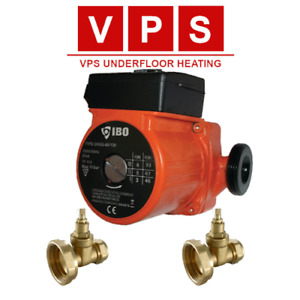 Central Heating Circulator Pump with Gate Valve options (22MM or 28MM)