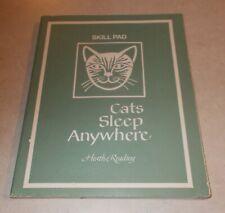 Cats Sleep Anywhere Skill Pad Heath Reading