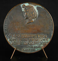 Medal, Felix Eboué Governor IN The Chad The Colonies Africa Equatorial Medal
