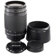 Nikon AF Nikkor 70-300mm G for D700 D800 D200 D50 D2 D3 D600 D7100 D810 D750 (T)
