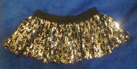 Build A Bear Workshop Black Glitter Skirt