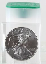 Roll of 20 - 2016 1 oz Silver American Eagle $1 Coin AU (Lot, Tube of 20)C0057