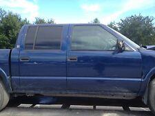 REAL 4 DOOR CREW CAB BODY w/ DOORS CHEVY S10 TRUCK GMC SONOMA W/ CREW TRIM PARTS