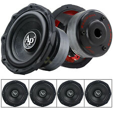 """4 Pack Audiopipe 8"""" Subwoofers 500 Watts Max Single 4 Ohm Triple Stack TXX-BD3-8"""