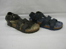 Synthetic Medium Width Sandals for Boys Buckle Shoes