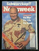 Newsweek Magazine September 28 1992 Schwarzkopf US Army Just For Kids Section