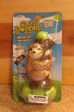 SLOTH POPPER Foam Ball Shooter Fun Kid Toy Gift Bags Party Hog Wild Novelty