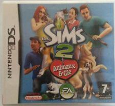 Jeu DS les Sims 2 animaux & Cie