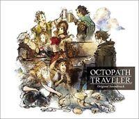 OCTOPATH TRAVELER Original Soundtrack 4 CD Square-Enix