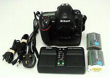 Nikon D D4 16.2MP Fotocamera Reflex Digitale-Nero (Solo Corpo)