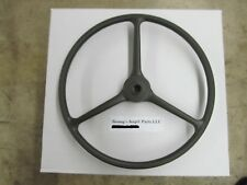 WILLYS JEEP M38 M38A1 M170 CORRECT ALL-GREEN STEERING WHEEL 800737 NEW PRODUCT!