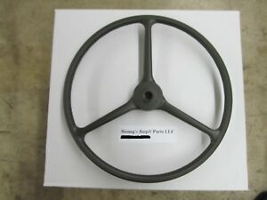 FITS WILLYS JEEP M38 M38A1 M170 CORRECT ALL-GREEN STEERING WHEEL 800737