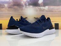 Nike Epic React Flyknit 2 Blue White Running Shoe BQ8928-401 Men's Size 12