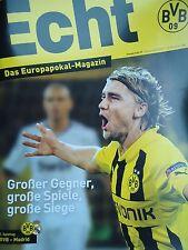 off. Programme UCL 2016/17 Borussia Dortmund vs Real Madrid