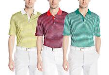 Adidas Golf Men's Performance 3-Color Stripe Polo Shirt, 3 Colors