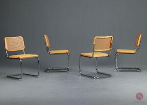 Thonet S32 Freischwinger Bauhaus Klassiker Stuhl Esche Breuer cantilever chair