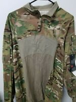 MULTICAM ARMY ISSUE TYPE 2 1/4 ZIP COMBAT SHIRT LARGE NWT