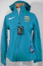 NWT Nike Womens Hypershield Team Brazil Running Jacket M Teal MSRP$350