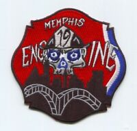 Memphis Fire Department Engine 19 Patch Tennessee TN v2