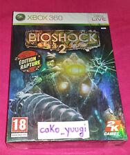 BIOSHOCK 2 RAPTURE EDITION XBOX 360 NEUF SOUS BLISTER 100% FRANCAIS