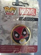 Marvel Deadpool Funko Pop! Pin NIP free shipping