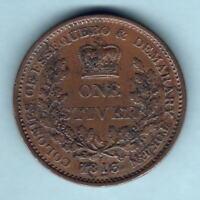 Essequibo & Demerary.  1813 1 Stiver.. gVF/VF