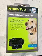 New listing Premier Pet Wireless Add-A-Dog Collar