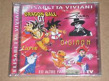 ELISABETTA VIVIANI - DRAGON BALL, ZORRO, LUPIN E ALTRE SIGLE TV - CD SIGILLATO