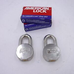 NO KEYS Lot of 2 American Lock AH10KA Padlock Key E708