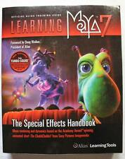 Book LEARNING MAYA 7 Special Effects Animation Computer Guide 2005 CD
