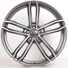 4x NEU VW Touareg 7L 7P 21 Zoll Alufelgen Anthrazit Matt Frontpoliert Axxion AX8