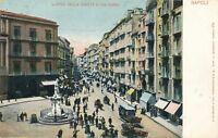NAPOLI – Largo Della Carita e Via Roma – Naples – Italy – udb (pre 1908)