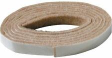 1/2 in. x 58 in. Heavy-Duty Self-Adhesive Felt Strip Beige Rectangular Polyester