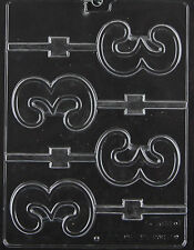 Number 3 # Three  Lollipop Sucker Chocolate Mold Soap Candy  SHIPS SAME DAY m220