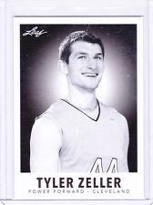 2012-13 Leaf Metal Draft Black and White Tyler Zeller