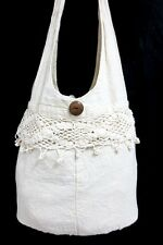 HOT!!!KNIT CRAFTS HOBO GYPSY SHOULDER BAG SLING HIPPIE CROSSBODY MONK THAI FREE