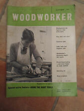 Woodworker October 1962 ~ Retro Vintage Illustrated Magazine + Advertising