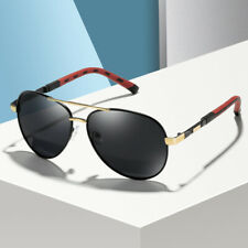 Aluminium Herren Sonnenbrille Auto Polarisiert Uv400 Schutz Sport Pilotenbrille