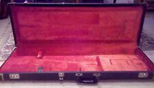 Década de 1970 Vintage Fender Usa Tolex caso Strat Stratocaster Tele Telecaster