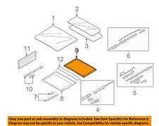 BMW OEM 05-06 X5 Sunroof Sun Roof-Sunshade Shade Cover 54137128718