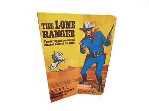 Marx Toys The Lone Ranger Figure Repro Box