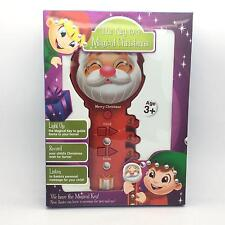 Winter Lane Magical Christmas Story Book & Voice Recorder - NEW