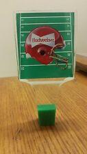 Budweiser Vintage Acrylic Football Helmet Field Beer Tap Handle Free Shipping!