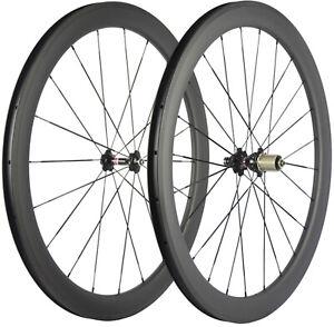700C Carbon Wheels 50mm Depth Novaec 271 Hub 25mm U Shape Carbon Wheelset Basalt