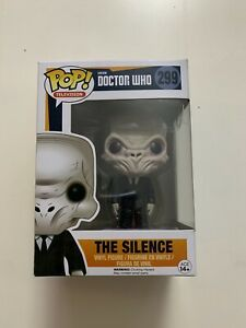 The Silence 299 - Doctor Who - Funko Pop Vinyl - Television BBC Dr