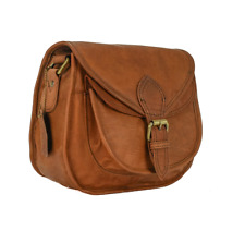 Vintage Leather Saddle Cross-body Messenger Handbag Women's Bag Free Shipping AU