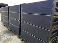 MEYER SOUND  MILO 90 LINE ARRAY SPEAKERS.(LOT OF FOUR)