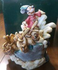 Harmony Kingdom Disney Fantasia Sorcerer Mickey Le 1000 Signed Robert King w/box